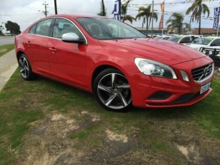 2011 Volvo S60 F Series T5 PwrShift R-Design Red 6 Speed Sports Automatic Dual Clutch Sedan Wangara Wanneroo Area Preview