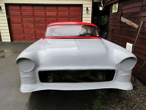55 CHEV X RACE CAR BODY