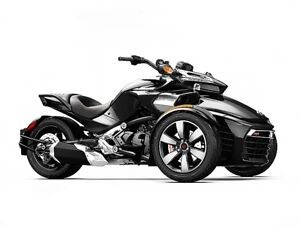 2015 Can-Am Spyder F3 S (SM6) Steel Black