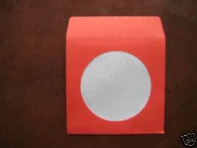 1000 Mini 3 Red Cd Paper Sleeve W Window Js207