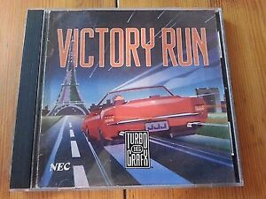 Jeu Victory Run/ turbografx 16