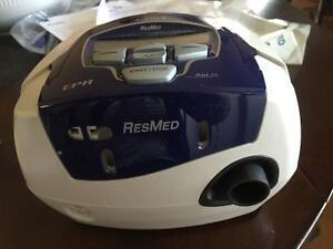 RESMED. CPAP. Positive airway breathing machine