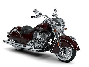 2018 Indian Motorcycle Chief Classic ABS Burgundy Metallic