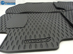 MAZDA 6 2006-2008 NEW OEM SET OF FOUR ALL WEATHER FLOOR MATS