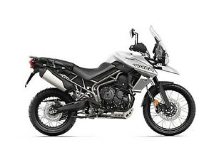 2018 Triumph Tiger 800 XCA Crystal White