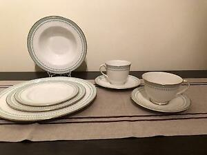 Elegant China Setting for Eight