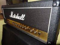 Marshall JCM200 DSL 100 Watt Guitar Amplifier. All Tube with cover