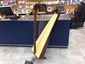 Harpe artisanale 36 cordes 48'' avec micro Piezo   #F022233