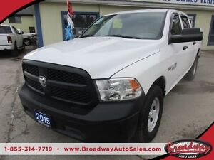 2015 Dodge Ram 1500 POWER EQUIPPED TRADESMEN EDITION 6 PASSENGER