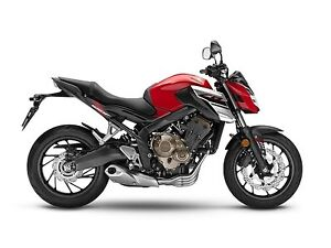 2018 Honda CB650F SAVE $1000!