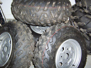 CAN AM TAKE OFF WHEEL TIRE AND STEEL RIM