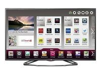 LG 47 inch 3D LED Smart TV 1080p HD Freeview HD **Pending collection**