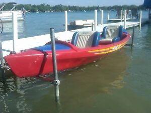 Very rare Electric Jonson Touring Escape boat