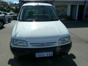 2001 Citroen Berlingo White 5 Speed Manual Van