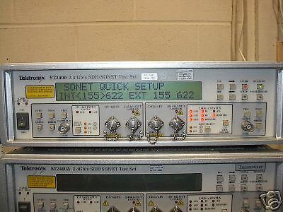 Tektronix St2400 Sdhsonet Set With Option