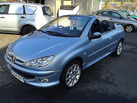 Peugeot 206 1.6 2002MY Coupe Cabriolet S 62K FSH