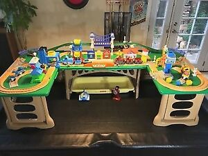 Train Play Tables - set of 3