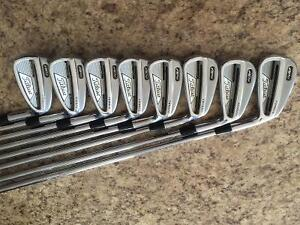 Titleist AP2 irons set. 3-PW stiff 6.0 Project X shafts
