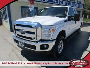 2015 Ford F-250 3/4 TON DIESEL WORK READY XLT MODEL 6 PASSENGER