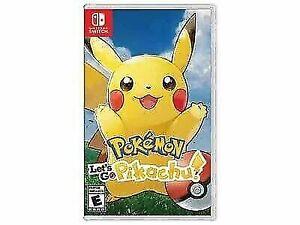 Lets Go Pikachu !!! Switch