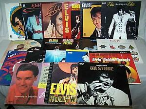 ELVIS PRESLEY VINYL LP COLLECTION SALE PRO COLLECTORS CLEAROUT