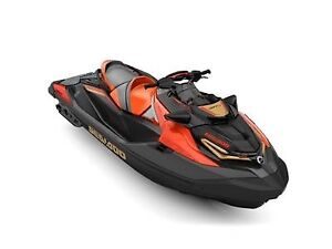 2019 Sea-Doo RXT-X 300 Eclipse Black and Lava Red