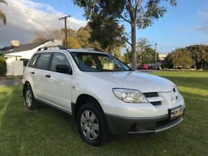 2005 Mitsubishi Outlander ZF LS White 4 Speed Sports Automatic Wagon Somerton Park Holdfast Bay Preview