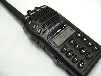 Motorola GP68 VHF 136-174MHz 5W 20 Channel 2-Way Radio + Accessories on Rummage