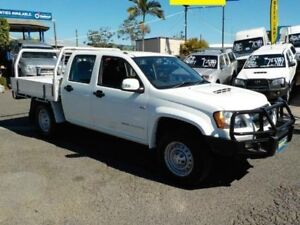 2010 Holden Colorado RC MY10 LX Crew Cab White 5 Speed Manual Utility Coopers Plains Brisbane South West Preview