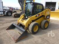2010 Caterpillar 256C skid steer/bobcat