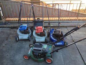 4 Victa Lawn Mowers 2 stroke Oak Park Moreland Area Preview