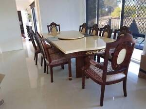 Large Sized Oriental Table Chairs For Sale