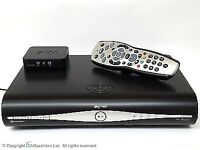 Sky Plus HD DRX 890 500GB Satellite TV Box and Sky Wireless Connector Mini.