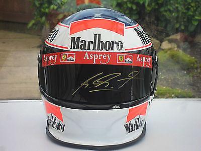 Eine echte Rarität: Der Helm von Michael Schumacher