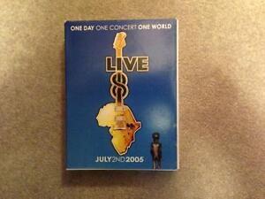 Live 8 - 4 DVD set excellent shape Paul McCartney etc