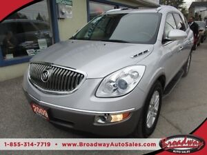 2009 Buick Enclave LOADED CX MODEL 7 PASSENGER 3.6L - V6.. CAPTA