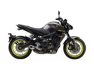 2018 Yamaha MT 09 Matte Metallic Gray