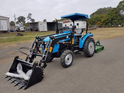 AgKing New 30hp AK304 Tractor with FEL and Bonus 4ft Slash