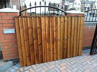 premium heavy duty 6x4 size fence panel