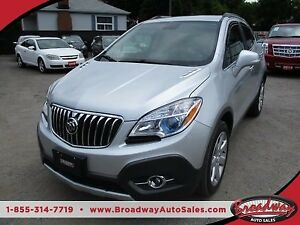 2015 Buick Encore LOADED AWD 5 PASSENGER 1.4L - TURBO.. LEATHER.