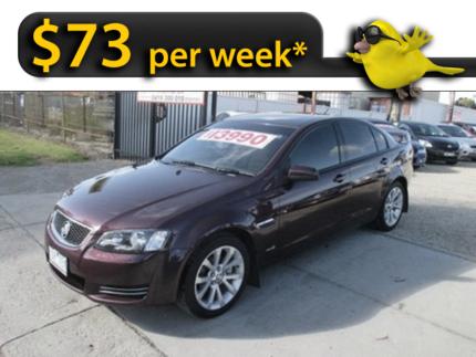 From $73 per week* - 2013 Holden Commodore Sedan