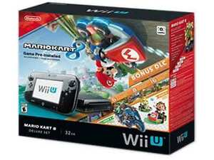 32 GB Wii U Console (hardly played) with extras!