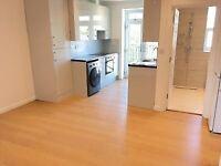 New Converted 1st Floor 1 Bed Flat Shower Open Plan Doors To Juliet Balcony VeryNearRailBusShops
