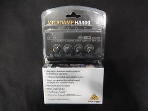 Micro Amplificateur BEHRINGER / Model HA400 (i020640)