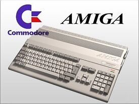 Wanted commodore Amiga computer and items