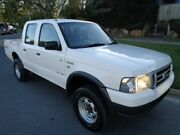 2006 Ford Courier PH GL (4x4) White 5 Speed Automatic Crew Cab P/Up Chermside Brisbane North East Preview