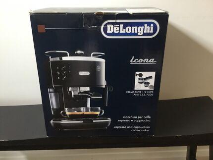 Delonghi icona coffee machine - rarely used