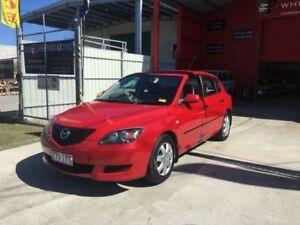 2005 Mazda 3 BK10F1 Neo Red Manual Hatchback