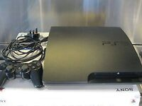 Ps3 slimline in charcoal black