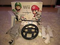Nintendo Wii and Mario Kart bundle